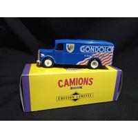 camionnette publicitaire Man Gondolo