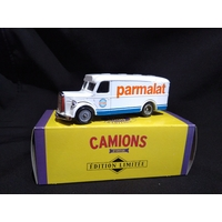 Camionnette publicitaire Man Parmalat