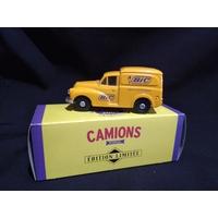 Camionnette publicitaire Morris Minor Bic