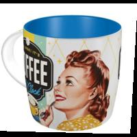 Mug vintage coffee