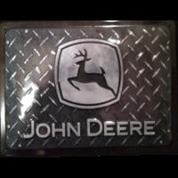 Plaque métal John Deere 30 x 20