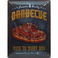 Plaque déco Barbecue 40 x 30