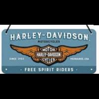 Plaque Harley Davidson 20 x 10