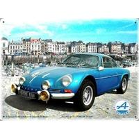 Plaque Alpine A110 berlinette