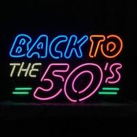 Enseigne néon Back to the 50's