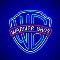 Enseigne néon Warner bros