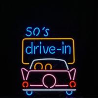 Enseigne néon 50's drive in