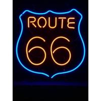 Enseigne néon Route 66