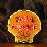 Enseigne néon Shell