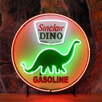 Enseigne néon Dino Sinclair