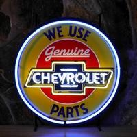 Enseigne néon Chevrolet