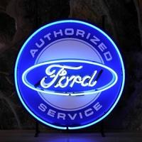 Enseigne néon Ford