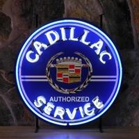 Enseigne néon Cadillac