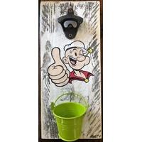 Décapsuleur mural Popeye