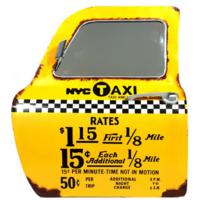 Portière miroir taxi 3D