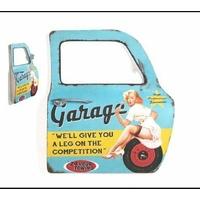 Portière miroir garage