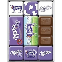 Lot de 9 magnets Milka