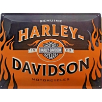 Plaque métal Harley 1903 40 x 30