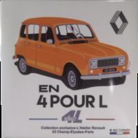 Magnet Renault 4L