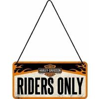 Plaque à suspendre Harley Davidson