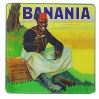 Dessous de plat Banania