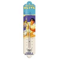 Thermomètre pastis olive