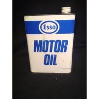 Bidon à huile Esso