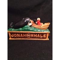 Tirelire mécanique Jonah et la baleine