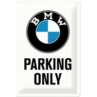 Plaque BMW parking only