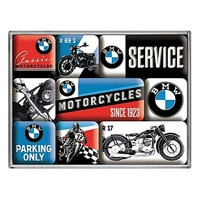 Lot de 9 magnets BMW