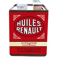 Tirelire huiles Renault