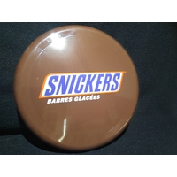 Frisbee publicitaire Snickers