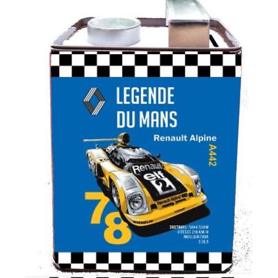 Bidon Tirelire Metal Renault Legende Du Mans