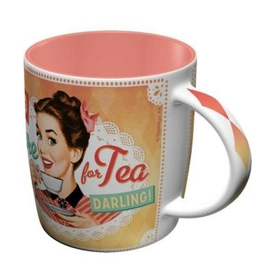 mug tasse café rétro vintage