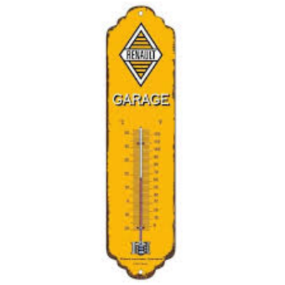 thermomètre renault garage rétro
