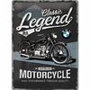 Plaque BMW moto legends 30 x 40