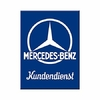 Magnet logo Mercedes  8x6