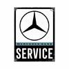 Magnet Mercedes service 8x6