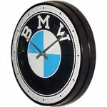horloge murale bmw logo moto vintage