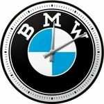 Bmw horloge logo publicité marque