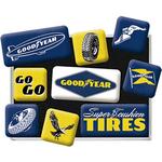 magnets goodyear frigo collection vintage pneus