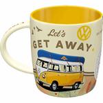 mug tasse céramique vw bulli combi transporter vintage rétro