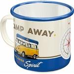 combi mug tasse émaillé vw golf bulli coccinelle collection vintage