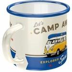 mug émail vw combi collection tasse