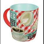 mug céramique rétro tasse vintage