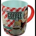 mug céramique tasse rétro vintage café