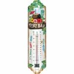 thermomètre publicitaire tiki bar métal rétro