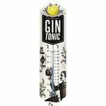 thermomètre publicitaire gin tonic bar déco vintage