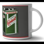mug castrol huile rétro vintage
