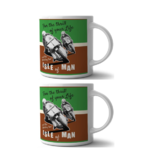 mugs isle of man moto le grenier vintage